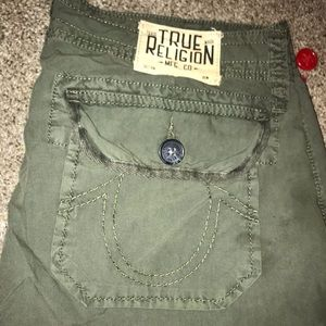 True Religion Cargo Shorts 28